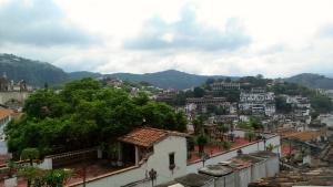 El Naranjo, Gro., Mexico from a rooftop.