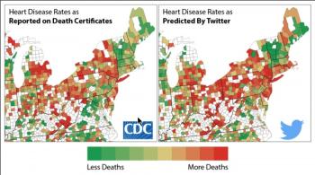 CDC Twitter Map
